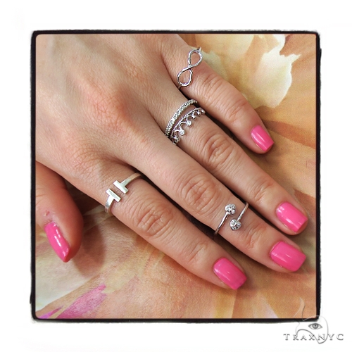 Crown Diamond Ring 45471 Anniversary/Fashion