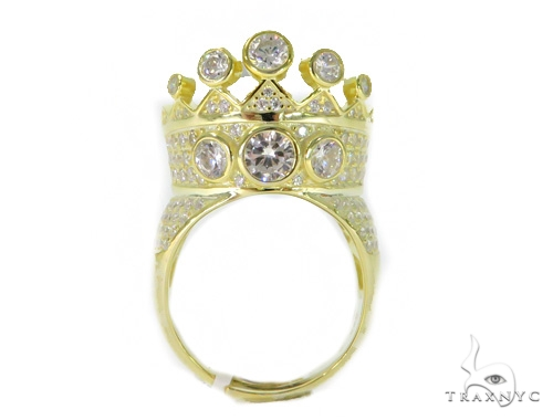Crown Silver Ring 49916 Metal