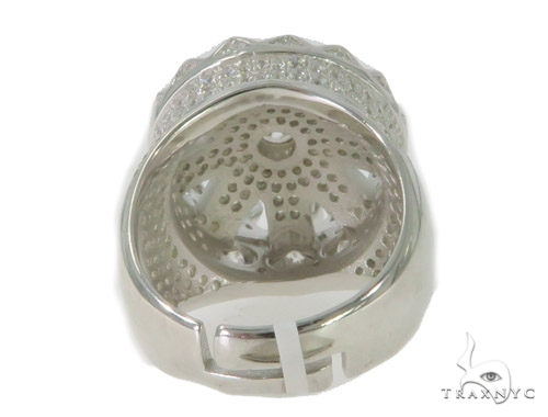 Crown Silver Ring 56413 Metal