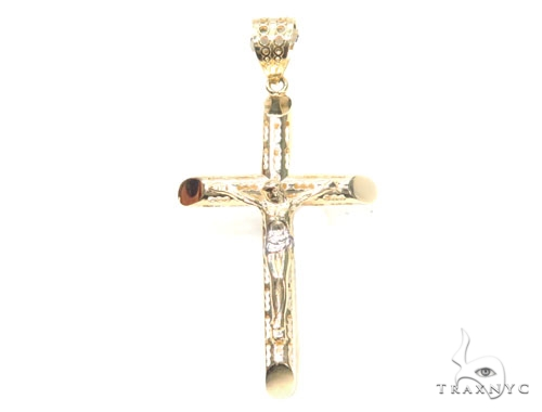 Crucifix Cross 44794 Gold