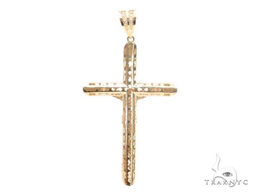 Crucifix Cross 44797 Gold