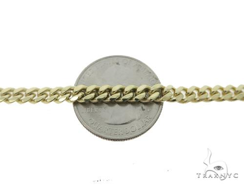 Cuban/Curb Gold Bracelet 49829 Gold