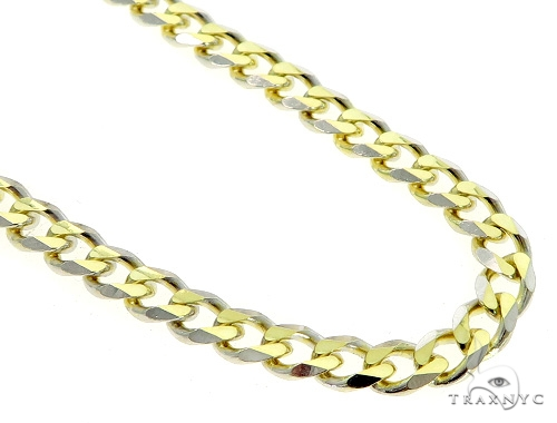 Cuban/Curb 14K Yellow Gold Chain 30 Inches 5mm 41.08 Grams 49529 Gold