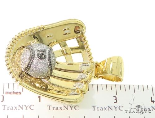 Custom Baseball Glove Pendant 56564 Metal