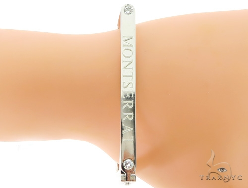 Custom Bezel Set Diamond Bracelet 45613 Diamond