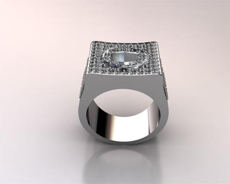Custom VS Cadillac Ring Stone