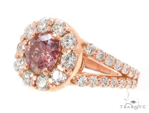Custom Champagne Diamond Ring 35541 Anniversary/Fashion