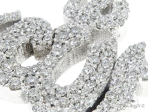 Custom Diamond Allah Pendant Islam Religious Charm 64754 Metal