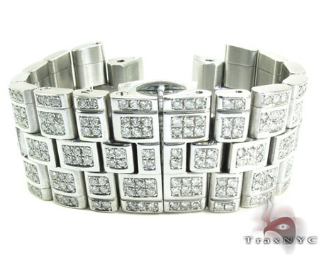 Custom Diamond Band Watch Accessories