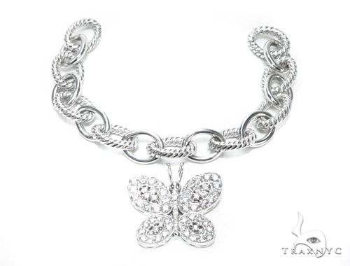 Custom Diamond Butterfly Bracelet 45621 Diamond
