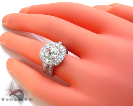 Custom Diamond Excellence Ring Engagement