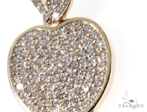 Custom Diamond New York Skyline Key Charm Pendant 64105 Stone