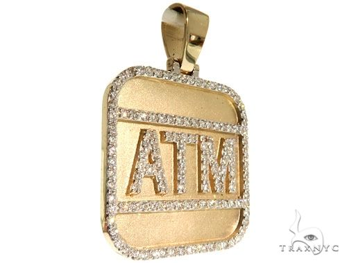 Custom ATM Pendant 63961 Metal