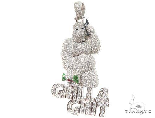 Custom Diamond Pendant 64184 Metal