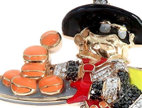 Custom Diamond Pendant 64793 Metal