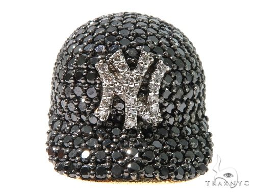 Custom Diamond Pendant Baseball Cap Metal