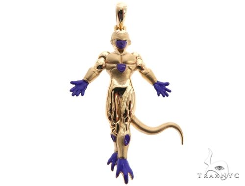 Custom Frieza Charm Pendant 64146 Metal