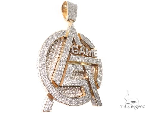 Custom Gas Game Pendant 64032 Metal