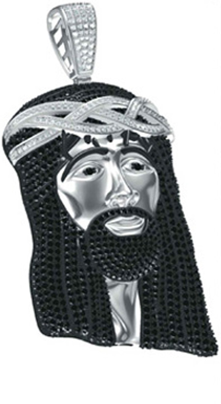 Custom Jesus Pendant Style