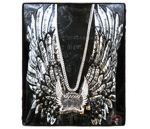 Custom Jewelry - Amalgam Digital Pendant Metal