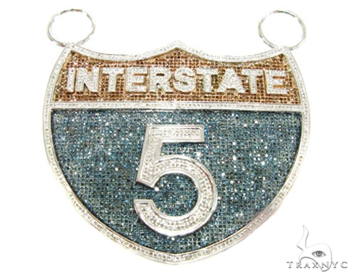 Custom Jewelry - I - 5 Pendant Metal