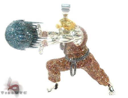 Custom Jewelry - Street Fighter Ken Metal