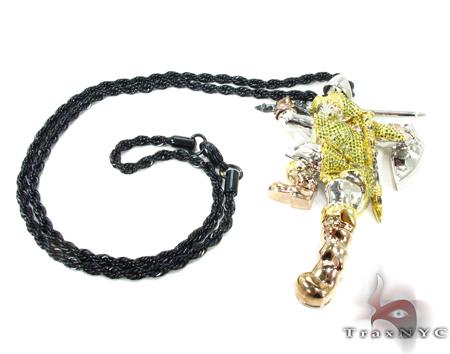 Custom Jewelry - Zelda Link Pendant 1 Metal