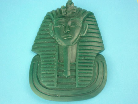 Custom Jewerly-CZ Silver Pharaoh Pendant Metal