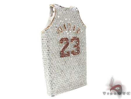 Jordan Jersey Pendant Metal