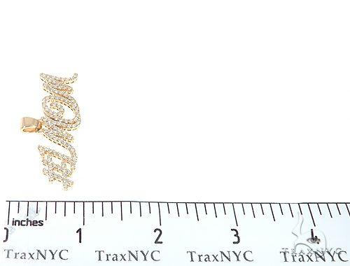 Custom Made Diamond Name Pendant #1MOM 65514 Metal