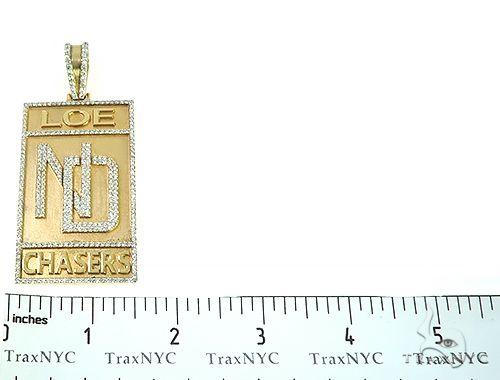 Custom Made Diamond Pendant 65708 Metal