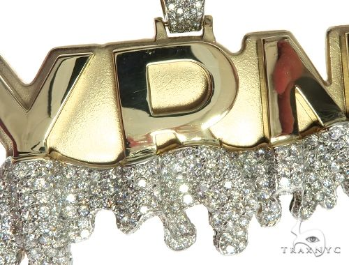 Custom Made Diamond YRN Pendant 63911 Metal