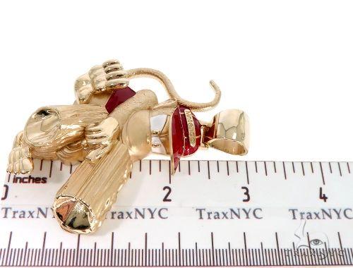 Custom Made Diddy Kong Pendant 64012 Metal