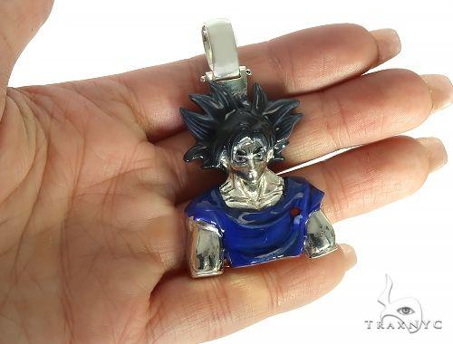 Custom Made Goku Anime Manga Character Pendant 66192 Metal