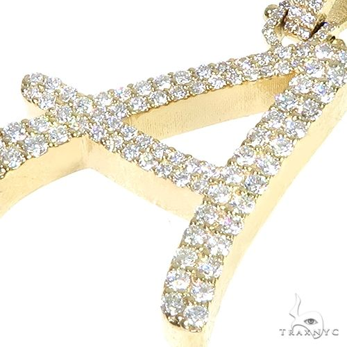 Custom Made Initial 'A' Diamond Pendant 66577 Style