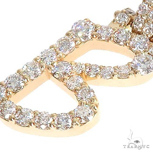 Custom Made Initial 'B' Diamond Pendant 66576 Style