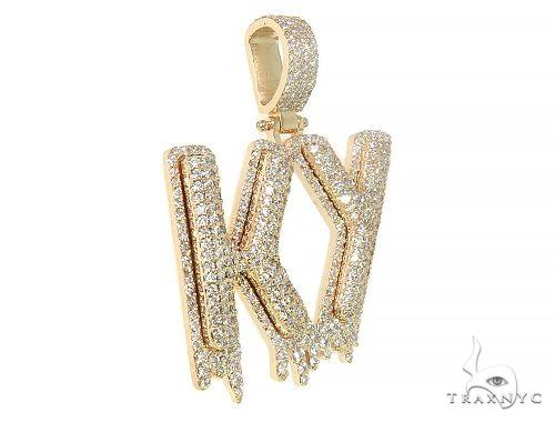 Custom Made KY Drip Diamond Pendant 66062 Metal