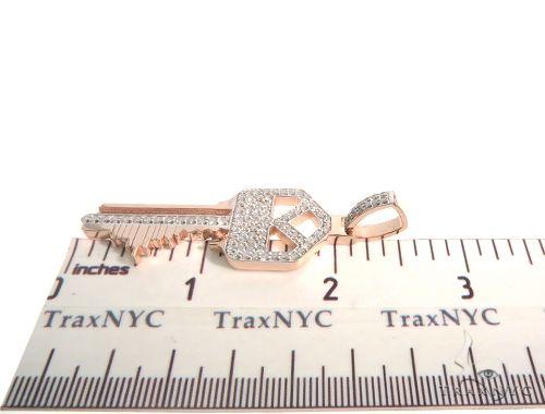 Custom Made Skyline Key Pendant 63918 Metal