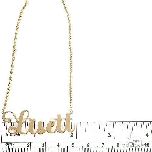 Custom Made Name Necklace 66773 Gold