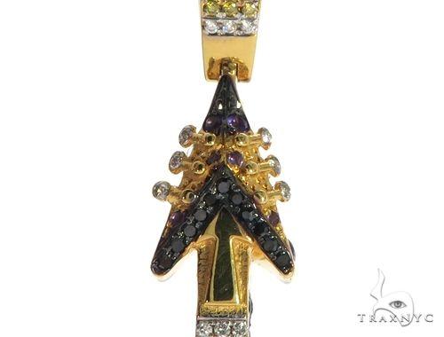 Custom Made Prince Guitar Pendant 63456 Metal