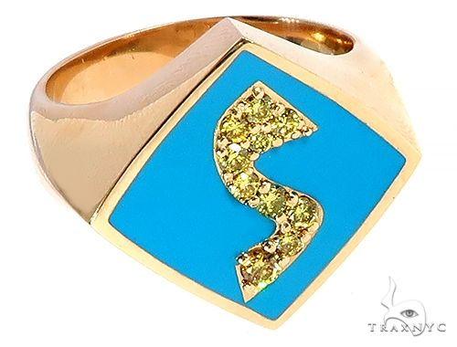 Custom Made Scooby Doo Ring 65499 Stone