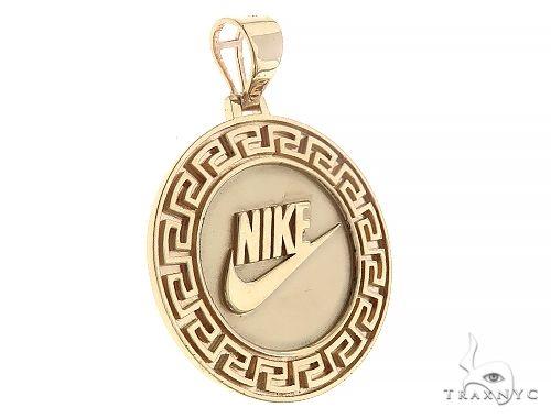 Custom Nike Pendant  Yellow Gold 65259 Metal