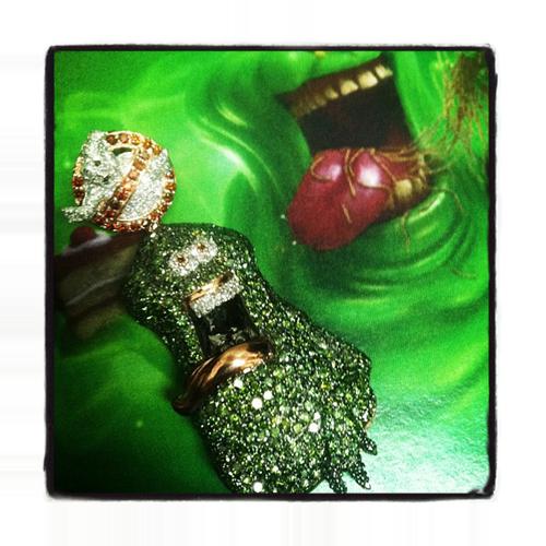 Custom Slime Pendant Metal