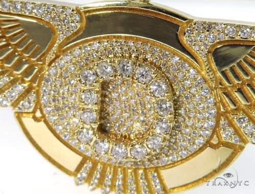'D' Eagle Diamond Pendant 45361 Metal