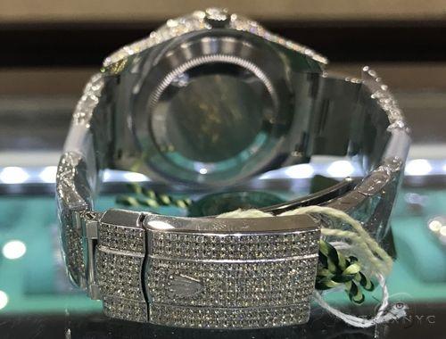 DateJust Oyster Perpetual Diamond Rolex Watch 41mm Stainless Steel 63894 Diamond Rolex Watch Collection