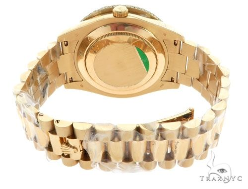 Day-Date II Oyster Perpetual Diamond Rolex Watch 61854 Diamond Rolex Watch Collection