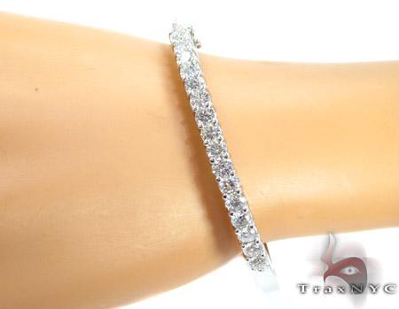 Dazzling 1 Row Diamond Bracelet Diamond
