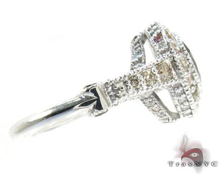 Silver Diamante Perfection Ring Anniversary/Fashion