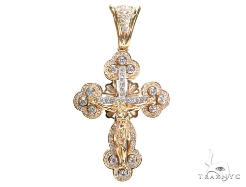 Diamond Christ The Savior Cross Crucifix 42775 Diamond