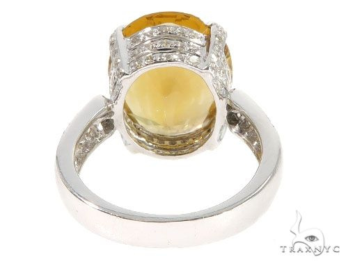 Diamond Citrine Muses Ring 64020 Anniversary/Fashion